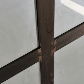 metaal bahndelen met lijnolie
